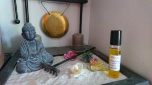 huile de lavande massage