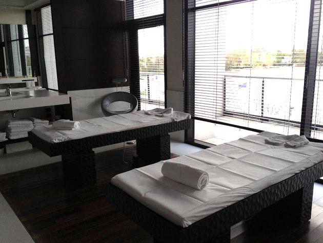 table de massage chauffante