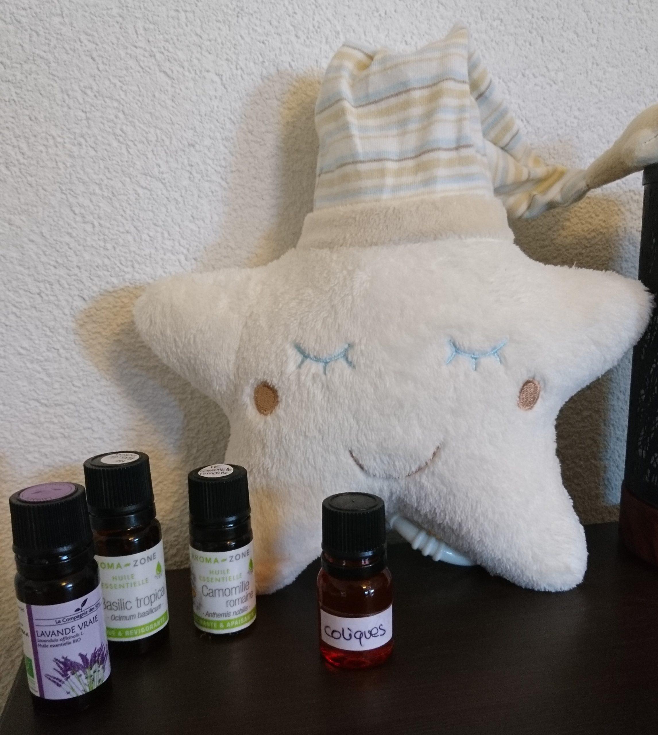huile végétale massage bébé